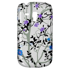 Floral Pattern Background Samsung Galaxy S3 Mini I8190 Hardshell Case