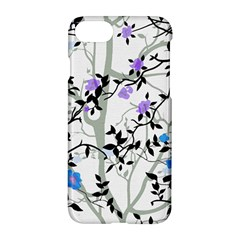 Floral Pattern Background Apple Iphone 7 Hardshell Case