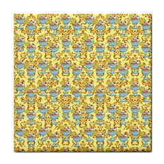 Paisley Yellow Sundaes Face Towel by snowwhitegirl