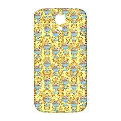 Paisley Yellow Sundaes Samsung Galaxy S4 I9500/i9505  Hardshell Back Case by snowwhitegirl