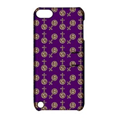 Victorian Crosses Purple Apple Ipod Touch 5 Hardshell Case With Stand by snowwhitegirl
