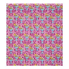 Paisley Pink Sundaes Shower Curtain 66  X 72  (large)  by snowwhitegirl