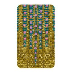 Gold Jungle And Paradise Liana Flowers Memory Card Reader (rectangular) by pepitasart