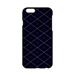 Blue Plaid  Apple Iphone 6/6s Hardshell Case by dressshop