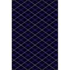 Blue Plaid  5 5  X 8 5  Notebook by dressshop
