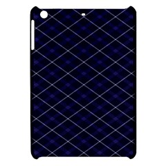 Blue Plaid  Apple Ipad Mini Hardshell Case by dressshop