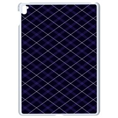 Blue Plaid  Apple Ipad Pro 9 7   White Seamless Case by dressshop
