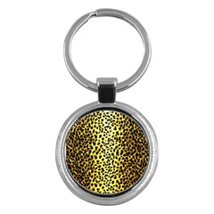 Leopard 1 Leopard A Key Chains (round)  by dressshop