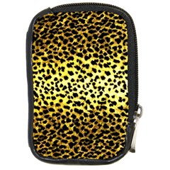 Leopard Version 2 Compact Camera Leather Case by dressshop