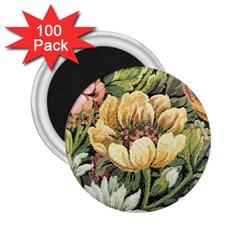 Retro Vintage Floral 2 25  Magnets (100 Pack)  by dressshop