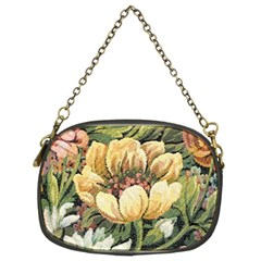 Retro Vintage Floral Chain Purse (two Sides) by dressshop