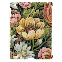 Retro Vintage Floral Apple Ipad 3/4 Hardshell Case (compatible With Smart Cover) by dressshop