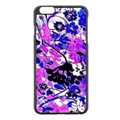 Floral Legging Floral Rug Apple Iphone 6 Plus/6s Plus Black Enamel Case by dressshop