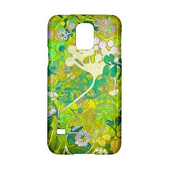 Floral 1 Abstract Samsung Galaxy S5 Hardshell Case  by dressshop