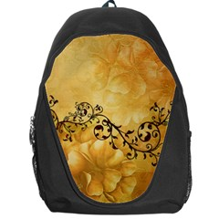 Wonderful Vintage Design With Floral Elements Backpack Bag by FantasyWorld7