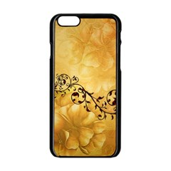 Wonderful Vintage Design With Floral Elements Apple Iphone 6/6s Black Enamel Case by FantasyWorld7