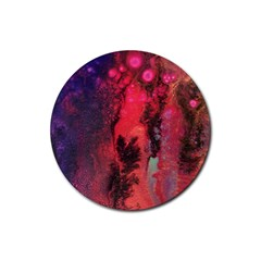 Desert Dreaming Rubber Coaster (round)  by ArtByAng