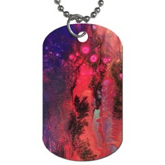 Desert Dreaming Dog Tag (two Sides)