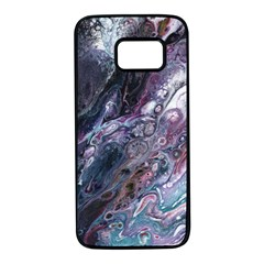 Planetary Samsung Galaxy S7 Black Seamless Case by ArtByAng