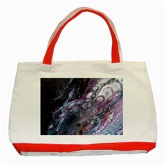 Planetary Classic Tote Bag (red) by ArtByAng