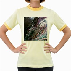 Planetary Women s Fitted Ringer T Shirt by ArtByAng
