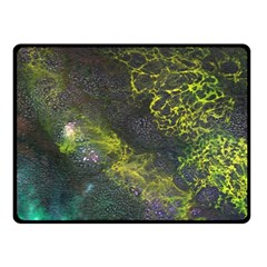 Deep In The Reef Fleece Blanket (small) by ArtByAng