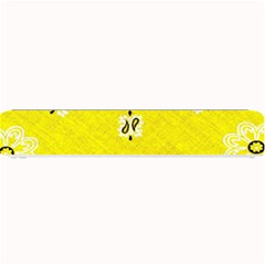 Grunge Yellow Bandana Small Bar Mats by dressshop