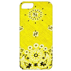 Grunge Yellow Bandana Apple Iphone 5 Classic Hardshell Case by dressshop
