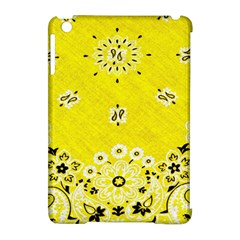 Grunge Yellow Bandana Apple Ipad Mini Hardshell Case (compatible With Smart Cover) by dressshop