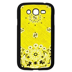Grunge Yellow Bandana Samsung Galaxy Grand Duos I9082 Case (black) by dressshop