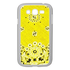 Grunge Yellow Bandana Samsung Galaxy Grand Duos I9082 Case (white) by dressshop
