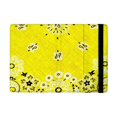 Grunge Yellow Bandana Ipad Mini 2 Flip Cases by dressshop