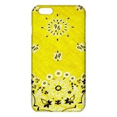 Grunge Yellow Bandana Iphone 6 Plus/6s Plus Tpu Case