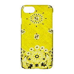 Grunge Yellow Bandana Apple Iphone 7 Hardshell Case by dressshop