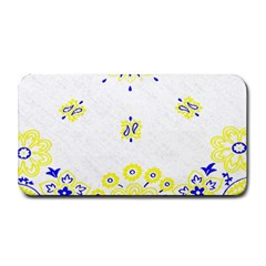 Faded Yellow Bandana Medium Bar Mats by dressshop