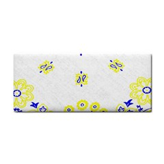 Faded Yellow Bandana Hand Towel by dressshop