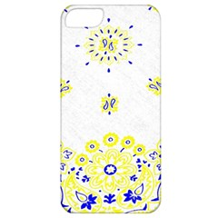 Faded Yellow Bandana Apple Iphone 5 Classic Hardshell Case by dressshop