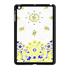Faded Yellow Bandana Apple Ipad Mini Case (black) by dressshop