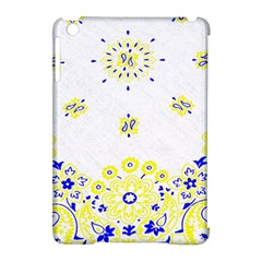 Faded Yellow Bandana Apple Ipad Mini Hardshell Case (compatible With Smart Cover) by dressshop
