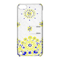 Faded Yellow Bandana Apple Ipod Touch 5 Hardshell Case With Stand by dressshop