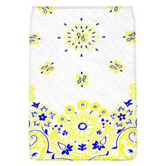 Faded Yellow Bandana Removable Flap Cover (l) by dressshop