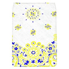 Faded Yellow Bandana Removable Flap Cover (s) by dressshop