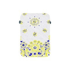 Faded Yellow Bandana Apple Ipad Mini Protective Soft Cases by dressshop