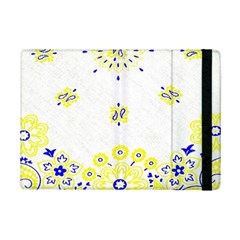 Faded Yellow Bandana Ipad Mini 2 Flip Cases by dressshop