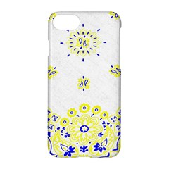 Faded Yellow Bandana Apple Iphone 7 Hardshell Case by dressshop