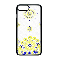 Faded Yellow Bandana Apple Iphone 7 Plus Seamless Case (black) by dressshop