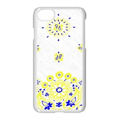 Faded Yellow Bandana Apple Iphone 7 Seamless Case (white) by dressshop
