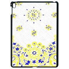 Faded Yellow Bandana Apple Ipad Pro 9 7   Black Seamless Case by dressshop