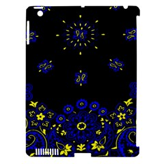Blue Yellow Bandana Apple Ipad 3/4 Hardshell Case (compatible With Smart Cover) by dressshop