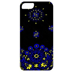 Blue Yellow Bandana Apple Iphone 5 Classic Hardshell Case by dressshop